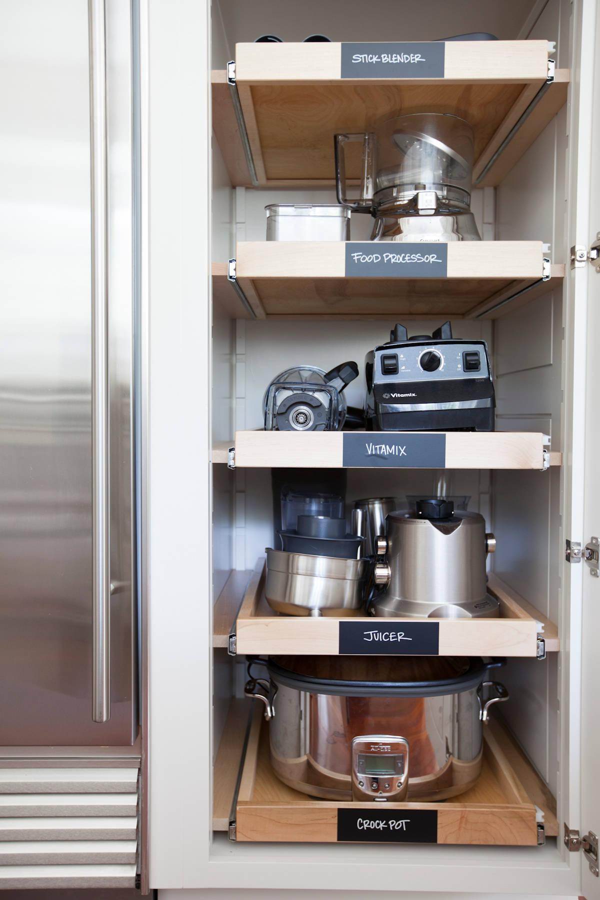 Small Appliance Storage Houzz