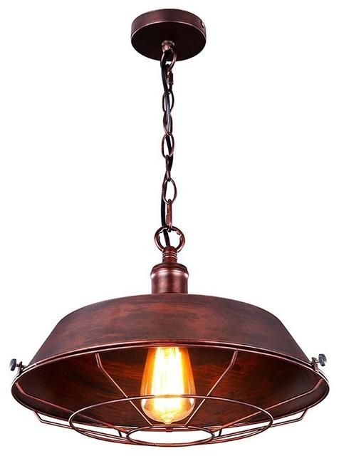 remix lighting industrial rusty brass copper like pendant light large pendant lighting