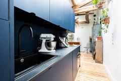 Aménagement : La cuisine dans le couloir d'entrée, bonne idée ?