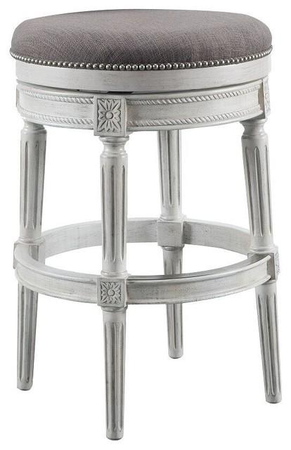 Farmhouse Bar Stools ~ Ashton shoreline celia backless counter stool erin