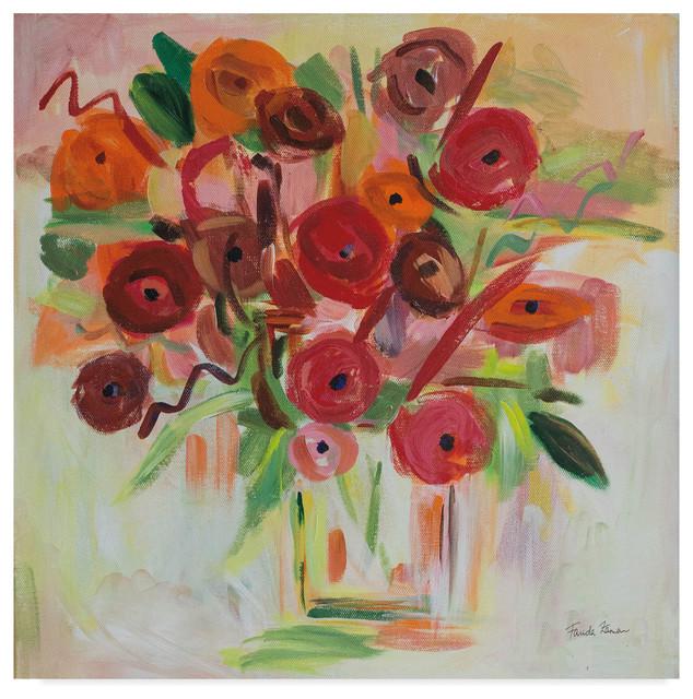 Beach Living II Giclee Stretched Canvas Artwork 18 x 18 Global Gallery Farida Zaman