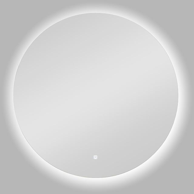 Sesel Round Led Backlit Bathroom Mirror 30