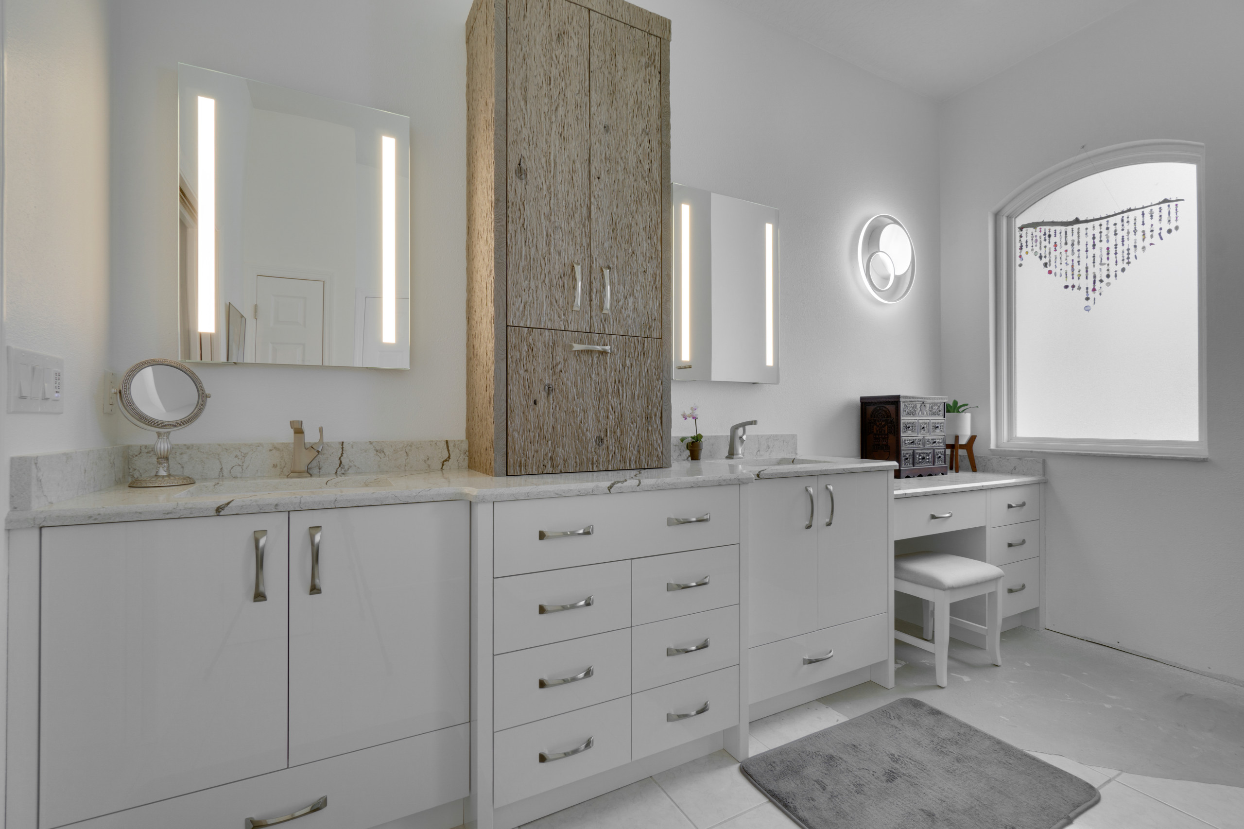 Modern Master Bathroom Vanity