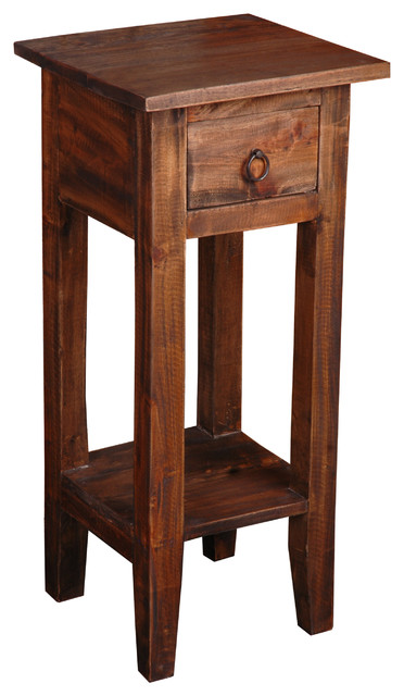 Sunset Trading Cottage Narrow Side Table transitional-side-tables-and-end-