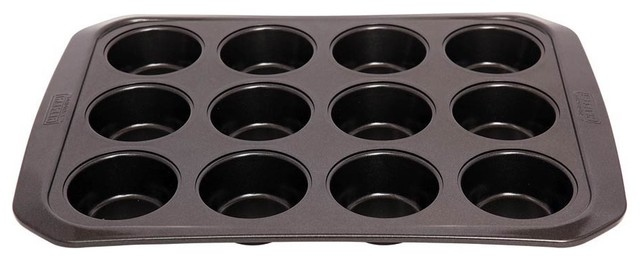 Kaiser La Forme Plus Muffin Pan 12 Cup Traditional
