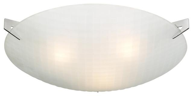 Contempo 3-Light Ceiling-Light, A19 Bulb.