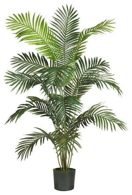 """Nearly Natural 5259 Paradise Artificial Palm Trees , 5-Feet, Green, 52""""x47"""""""