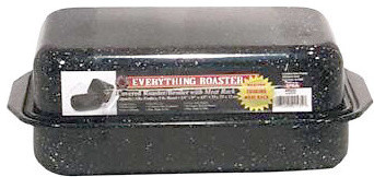 Granite Ware 3-Piece Everything Roaster With Rack.