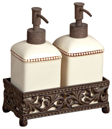 Gg Collection Double Soap Dispenser