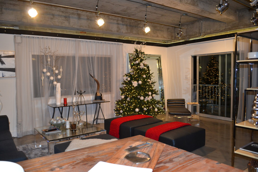 Christmas decorating modern style
