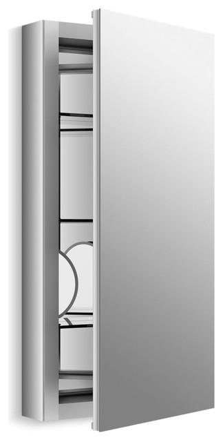 "Kohler Verdera Slow-Close Medicine Cabinet With Magnifying Mirror, 15""x30""."