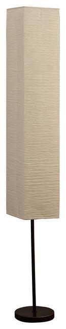 "62.5"" Noki Japanese Paper Floor Lamp"