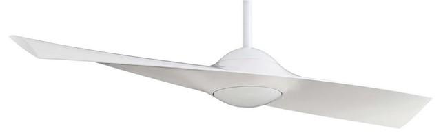 Minka-Aire Wing Ceiling Fan, White.