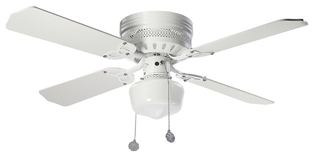 "Westinghouse 78500 Ceiling Fan With White/white Washed Pine Blades, 42""."