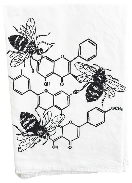 Honey Chemistry Cotton Kitchen Towel