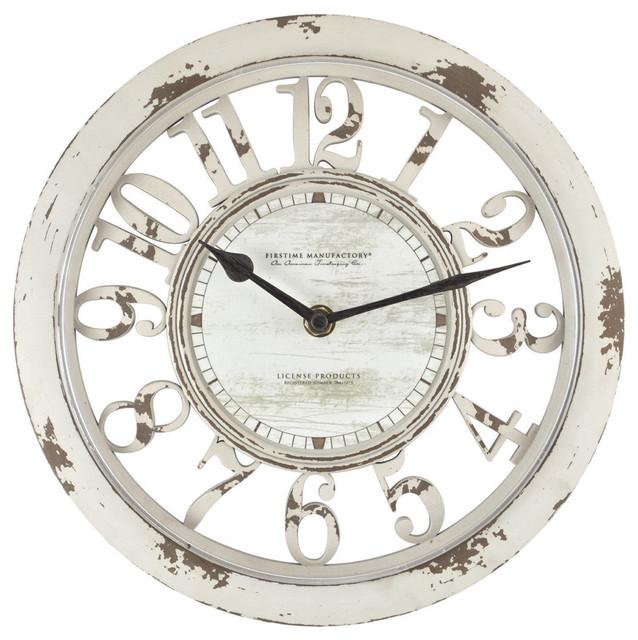 Antique Contour Wall Clock