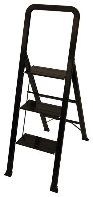 Designer Series Slim 3 Step Ladder Contemporary