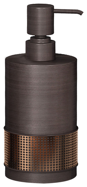 allen + roth Brinkley Oil-Rubbed Bronze Soap and Lotion Dispenser