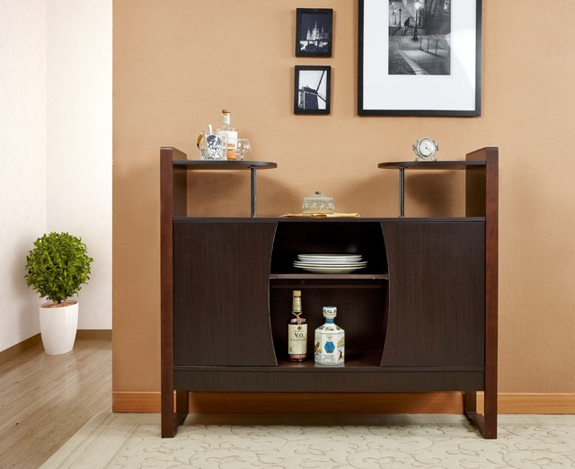 Furniture of America Dining Storage Buffet - Contemporary - Buffets And Sideboards - by ...