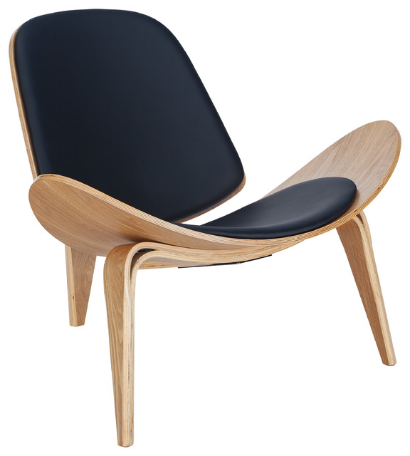 Tremendous Poly And Bark Curved Plywood Lounge Chair Ibusinesslaw Wood Chair Design Ideas Ibusinesslaworg