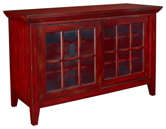Hidden Treasures Entertainment Console  Transitional Entertainment Centers And Tv Stands