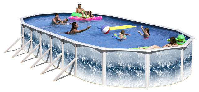 """Yorkshire Above Ground Pool Only, 30""""x15""""x48""""."""