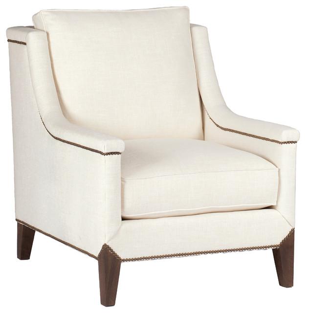Jordanne Lounge Chair, Vanilla.