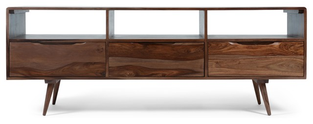 Larsson Wooden Media Unit