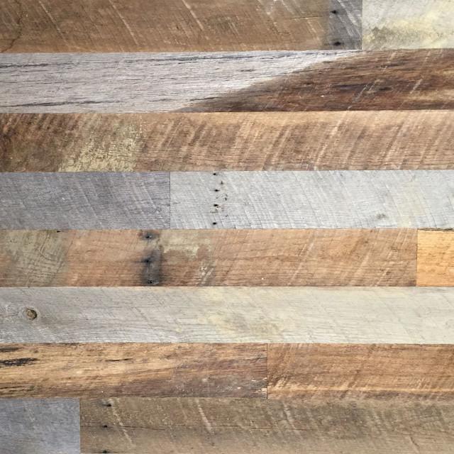 Reclaimed Oak Barn Siding Wall Panel