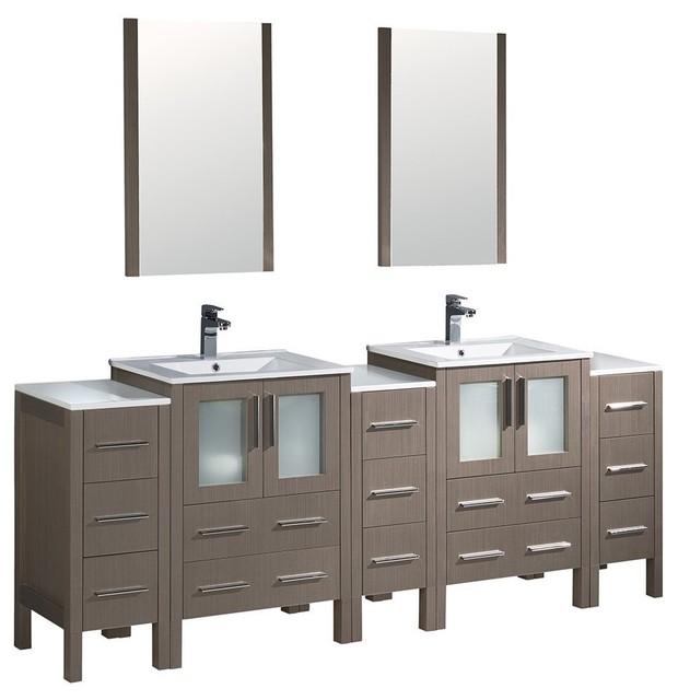 ... Sink Bathroom Vanity With 3 Side Cabinet - Bathroom Vanities And Sink
