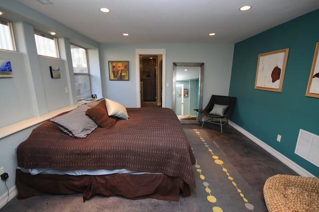 Chipeta Craftsman Basement Master Bedroom Remodel Craftsman Bedroom Other By R G Cowan