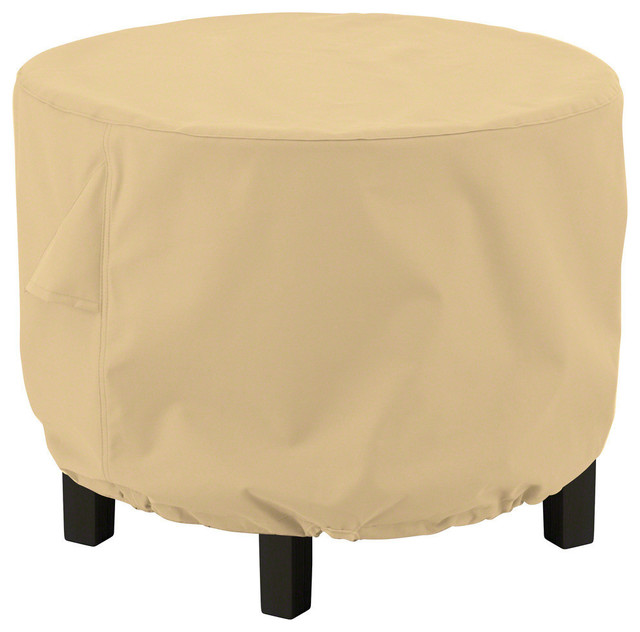 Round Ottoman/Coffee Table Cover, All Weather Protection