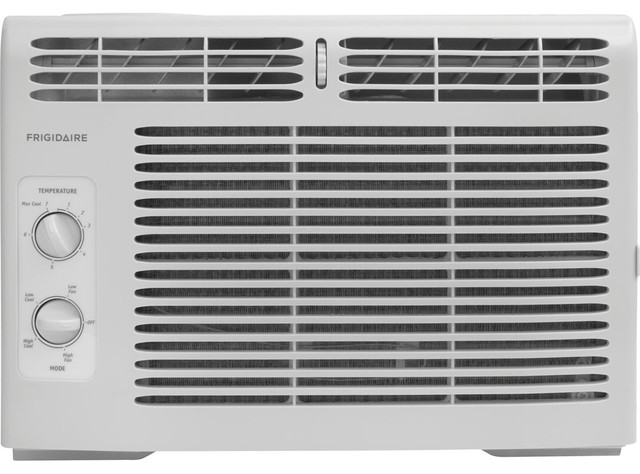5,000 Btu 115v Window-Mounted Mini-Compact Air Conditioner.
