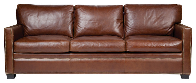 Beau Leather Sofa