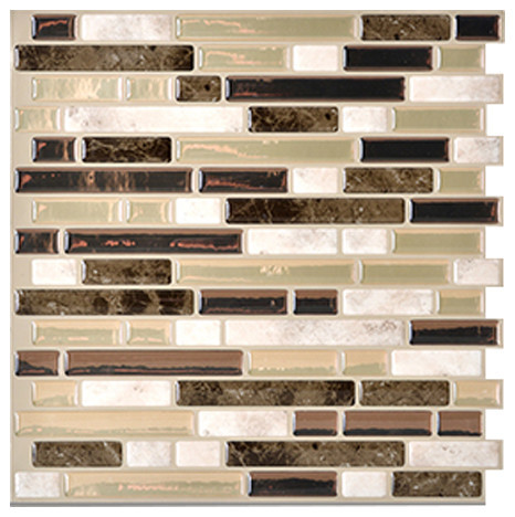 tile peel and stick 3d gel o wall tiles mosaik 1 count mosaic tile
