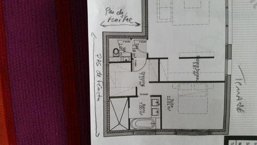 Une fenetre pour wc salle de bien et chambre parentale for Salle de bain 7m2