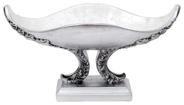Granada Decorative Pedestal Bowl Mediterranean