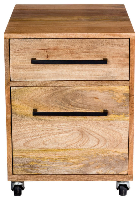 Moe S Colvin 2 Drawer Lateral File Cabinet Natural Filing Cabinets By Homesquare