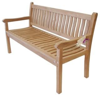 Grade A Teak Windsor 3 Seater Bench Craftsman Outdoor