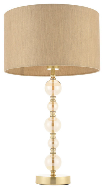 Dolton Table Lamp, Gold Finish