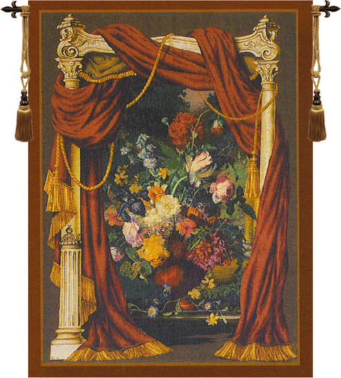 Bouquet Theatral European Tapestry Wall hanging ...