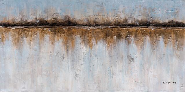 """abstract Earth Elements"" Hand Painted Canvas Artwork Fine Art; Modern Art."