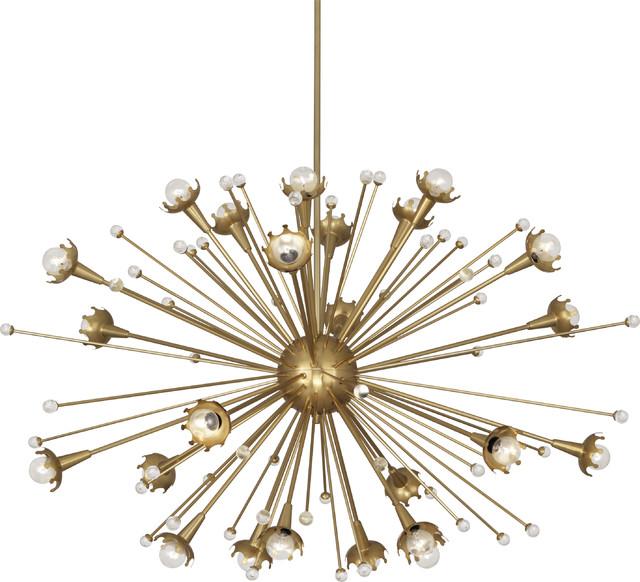 Robert abbey jonathan adler large sputnik chandelier contemporary robert abbey jonathan adler large sputnik chandelier antique brass mozeypictures Gallery