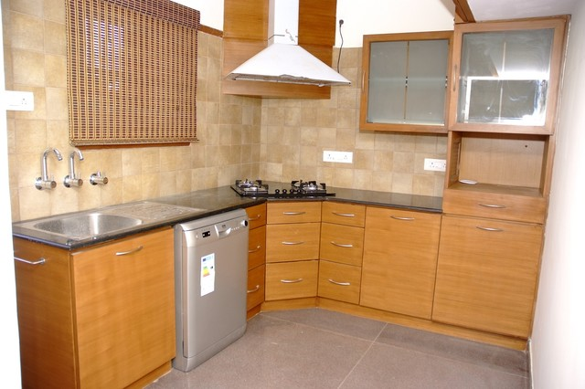 L Shaped Modular Kitchen Designs Online In Bangalore Modern Kitchen Bengaluru By Scale