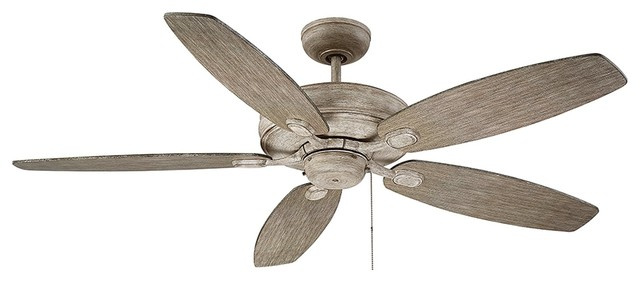 Savoy House Kentwood 5-Blade Ceiling Fan, Aged Wood.