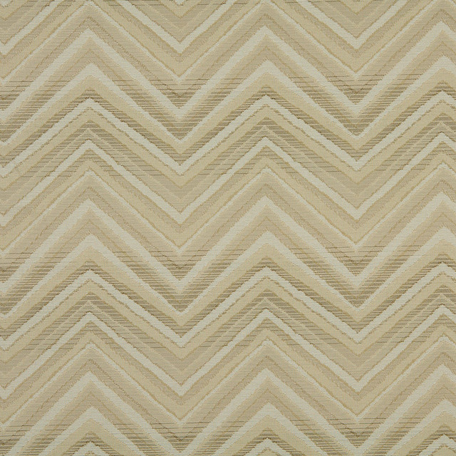 Beige Tan And Taupe Chevron Indoor Outdoor Upholstery Fabric By ...