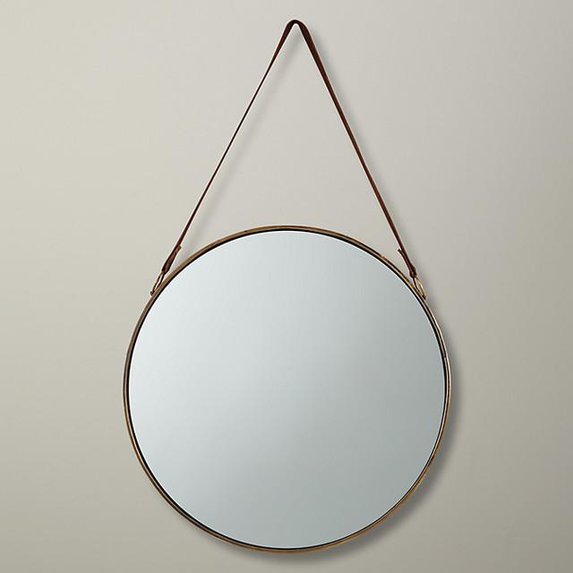 Wall Decor John Lewis : John lewis round hanging mirror dia cm brass