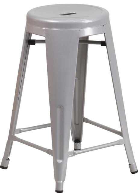 Counter Height Outdoor Stools : ... Outdoor Counter Height Stool - Modern - Bar Stools And Counter Stools