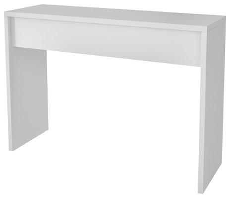 Accentuations By Manhattan Comfort Lazio Classic Secretary Desk, White.