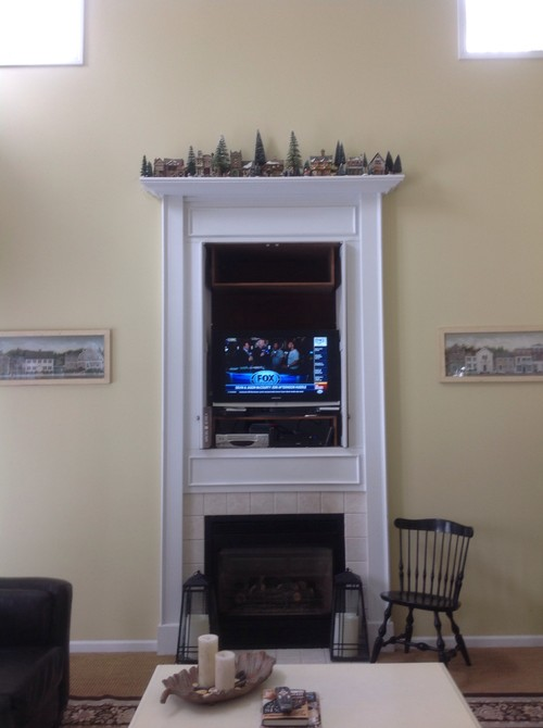 How To Decorate 18 Foot Tall Walls In Living Room
